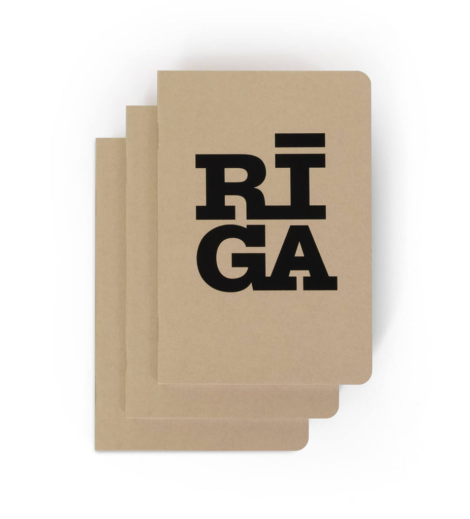 Notebook — Riga Original® (Cappucino, 3-pack)