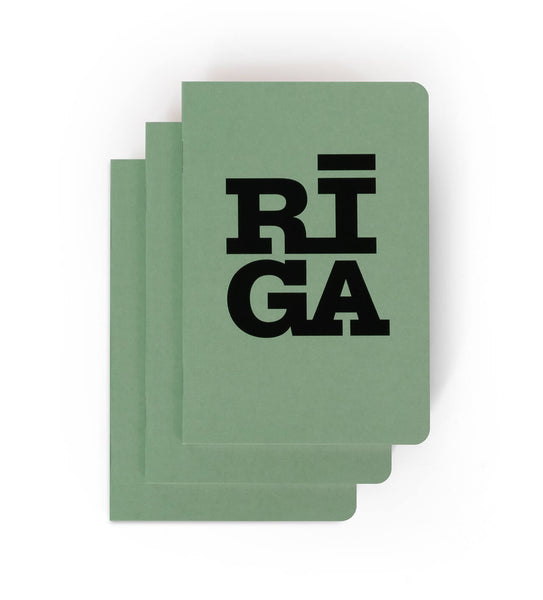 [NEW] Notebook — Riga Original® (Mint, 3-pack)