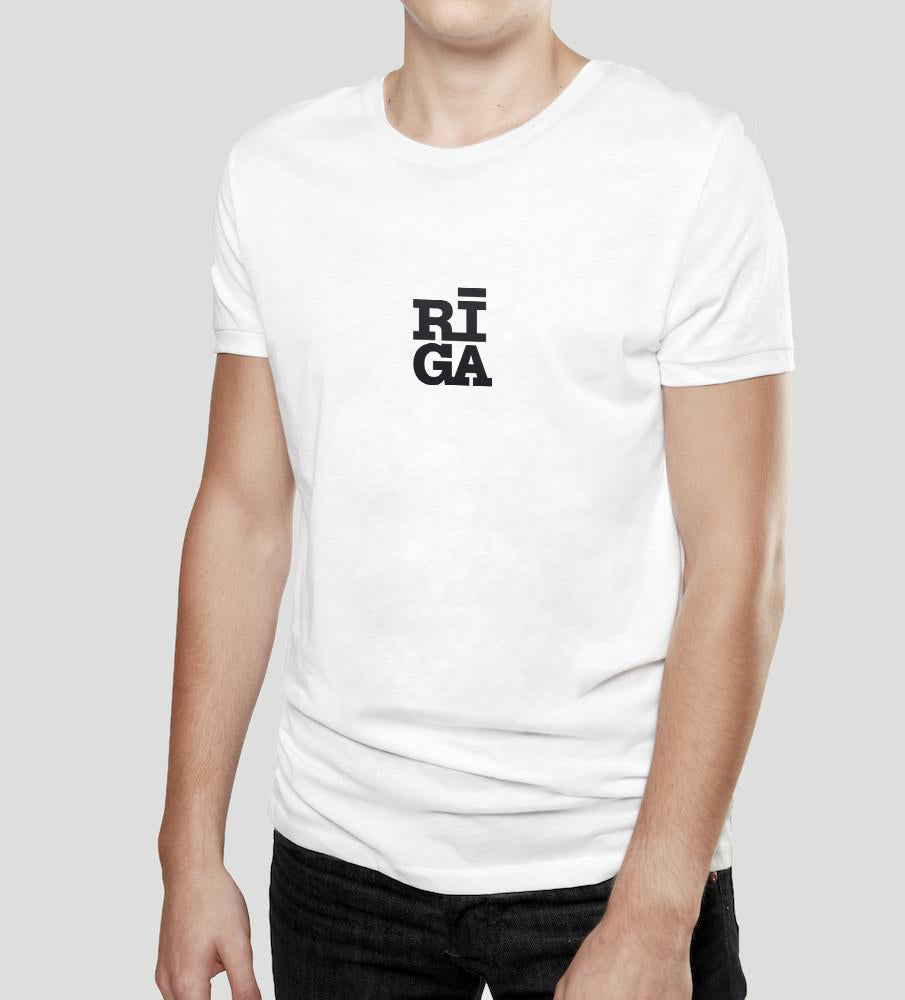 Riga Original® is a tribute to the city we all share, embrace and call our home.  The design is a contemporary take of the historic landmark set on all four highways of the city — a welcome sign that connects people from 1980.  This unisex T-shirt is made of 100% organic cotton and exclusively produced in Riga, Latvia.