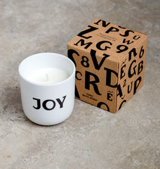 "Scented Soy Wax Candle — ""Joy Candle"""