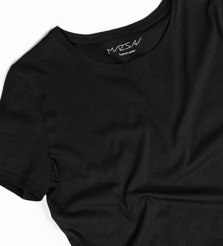 fb5fcf356f2 Premium Ladies T-shirt — MONO (Rich Black) – Miesai
