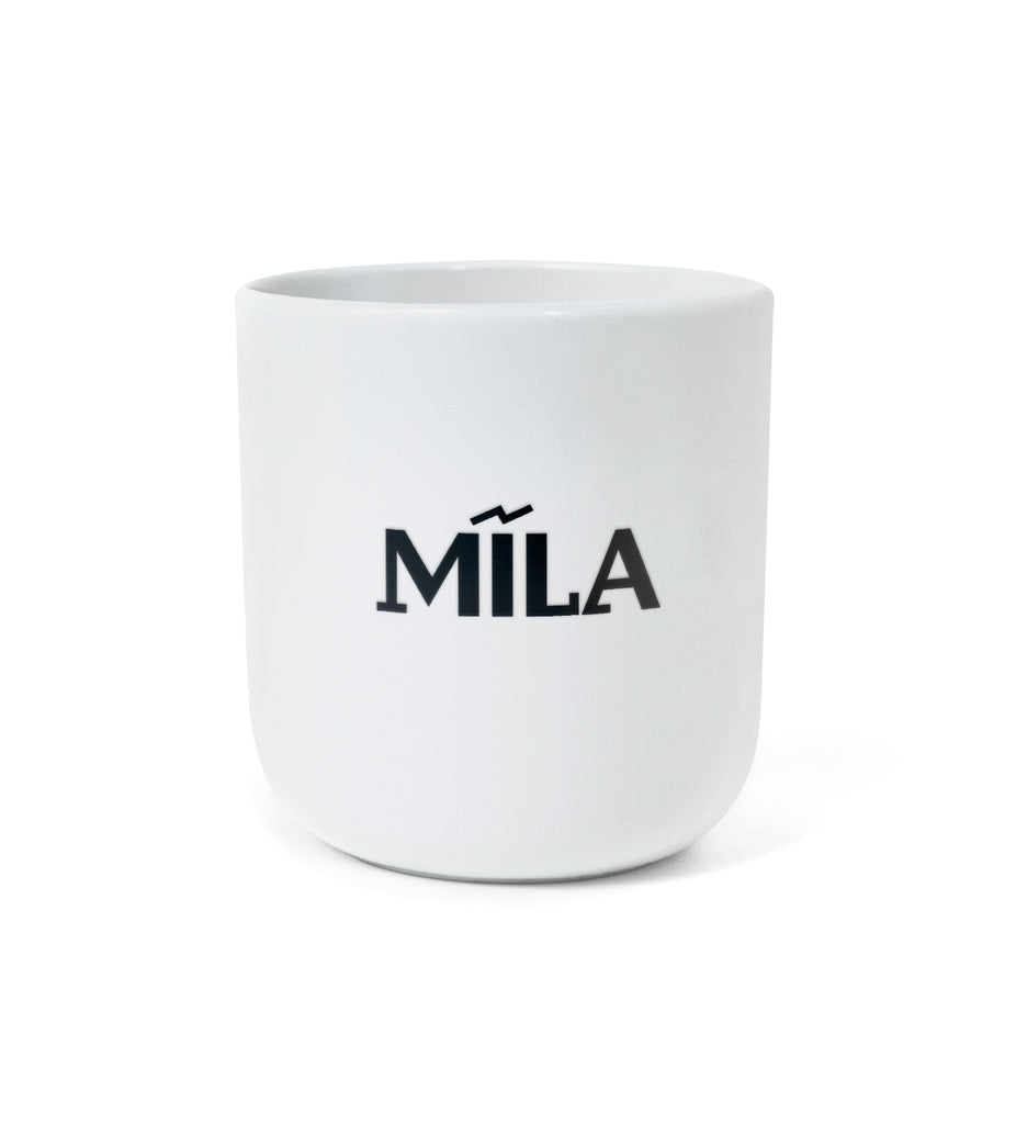 "NEW: Iconic Design Mug – ""MĪLA / DVESMA"""