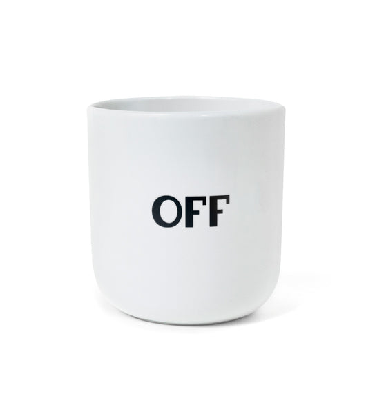 "Iconic Design Mug — ""ON / OFF"""