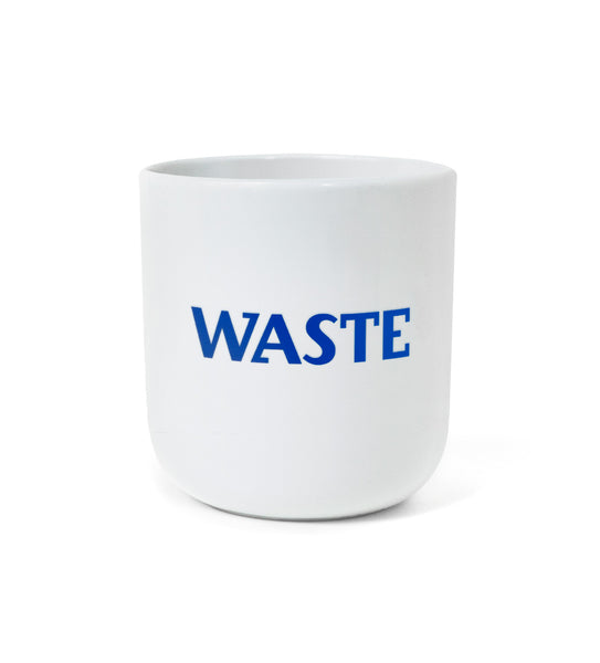 "Iconic Design Mug — ""ZERO / WASTE"""