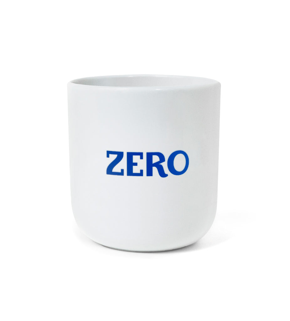 "NEW: Iconic Design Mug – ""ZERO / WASTE"""