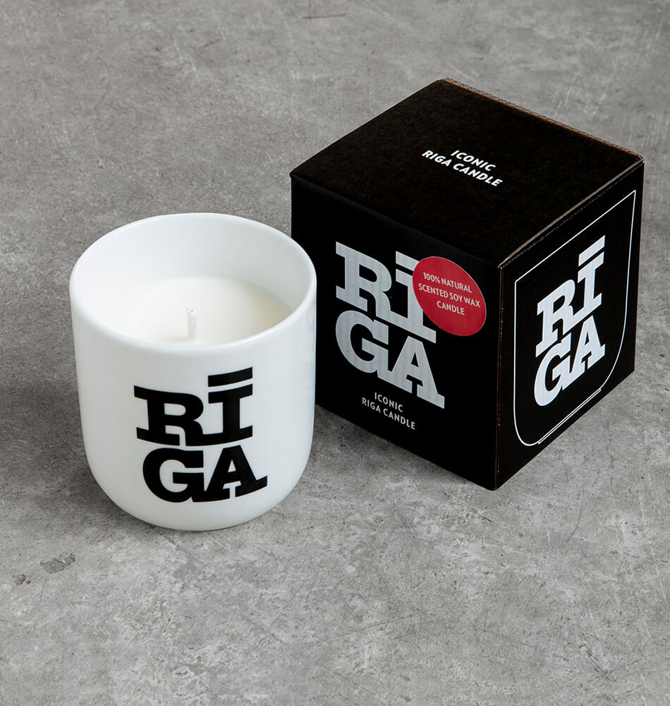 "[New] Scented Soy Wax Candle  —  ""Riga Original®"""