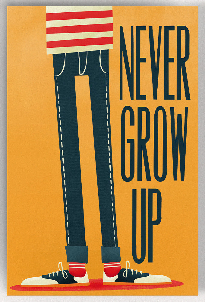 Never Grow Up - Postal