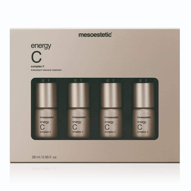 Energy C Complex - 4 x 7mL - - Mesoestetic - Vitamin C - The Skin Boutique