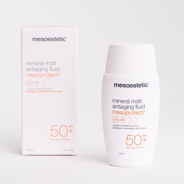 Mesoprotech Mineral Matt Anti-Ageing Fluid - 50ml - - Mesoestetic - SPF - The Skin Boutique