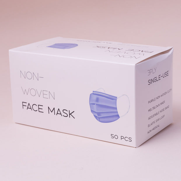 Breathable Fashion Masks - Adults, 50 pcs - 50 pcs - Blue - The Skin Boutique - Face Mask - The Skin Boutique