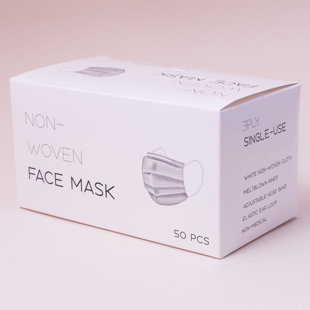 Breathable Fashion Masks - Adults, 50 pcs - 50 pcs - Purple - The Skin Boutique - Face Mask - The Skin Boutique