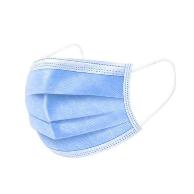 Disposable Face Mask - 3 ply - 50 pcs - Blue - The Skin Boutique - Face Mask - The Skin Boutique