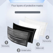 Disposable Face Mask - 4 Ply - 50 pcs - - The Skin Boutique - Face Mask - The Skin Boutique