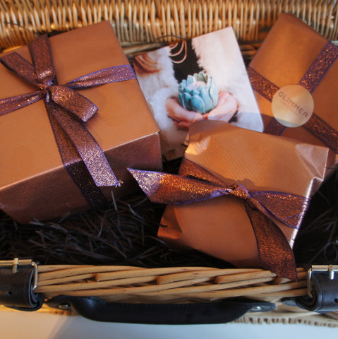 Luxury Candle Hamper Gift Wrapping