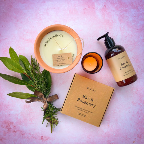 Bay & Rosemary Gift Set