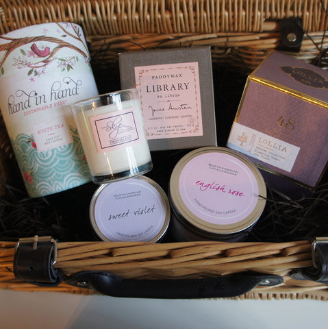 Glimmer Luxury Candle Gift Hamper : For Her