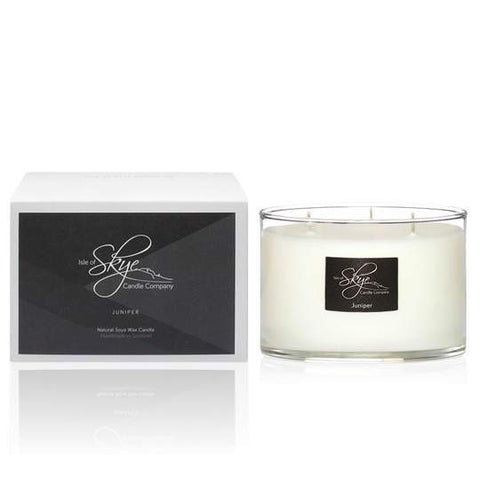 Boxed 3 Wick Candle : Juniper