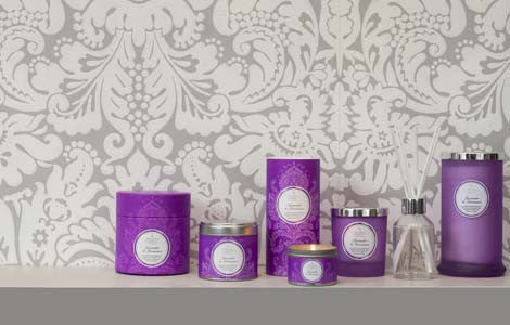 Couture Boxed Candle : Lavender & Geranium