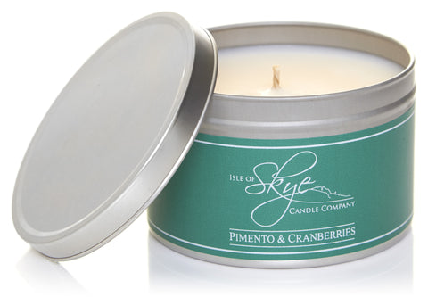 Travel Candle : Pimento & Cranberries