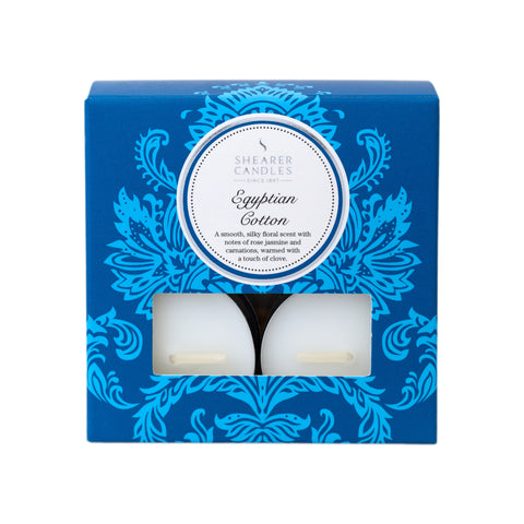 Couture Scented Tealights : Egyptian Cotton