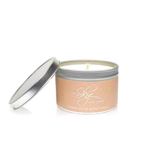 Travel Candle : Sandalwood & Patchouli