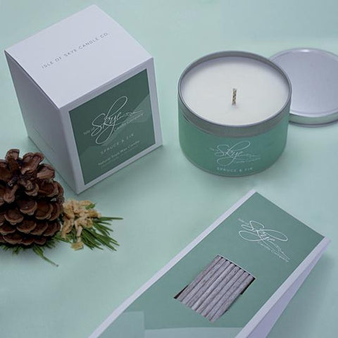 Travel Candle : Spruce & Fir