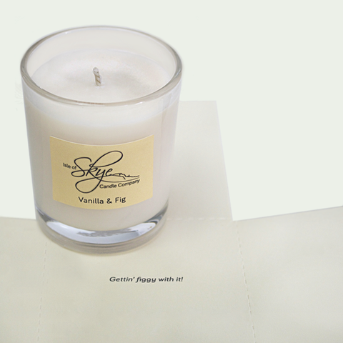 Votive : Vanilla & Fig