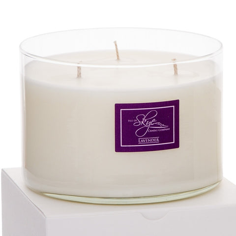 Boxed 3 Wick Candle : Lavender