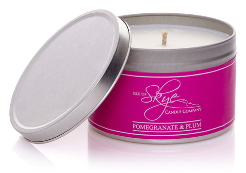 Travel Candle : Pomegranate & Plum