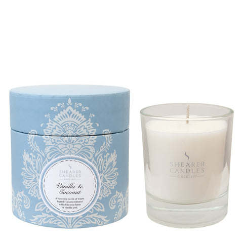 Couture Boxed Candle : Vanilla & Coconut