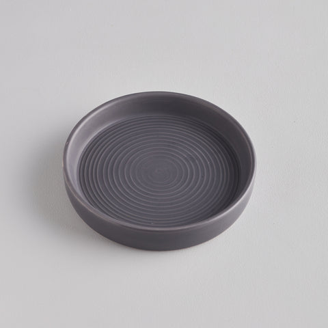 Candle Plate : Grey