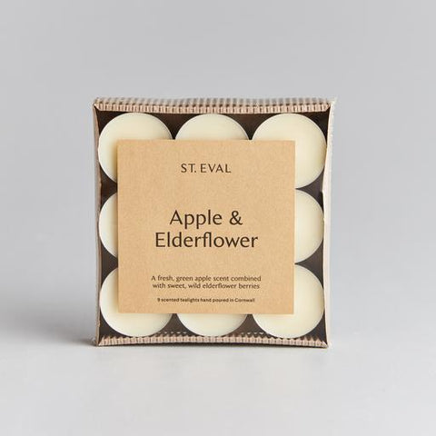 Boxed Tealights : Apple & Elderflower