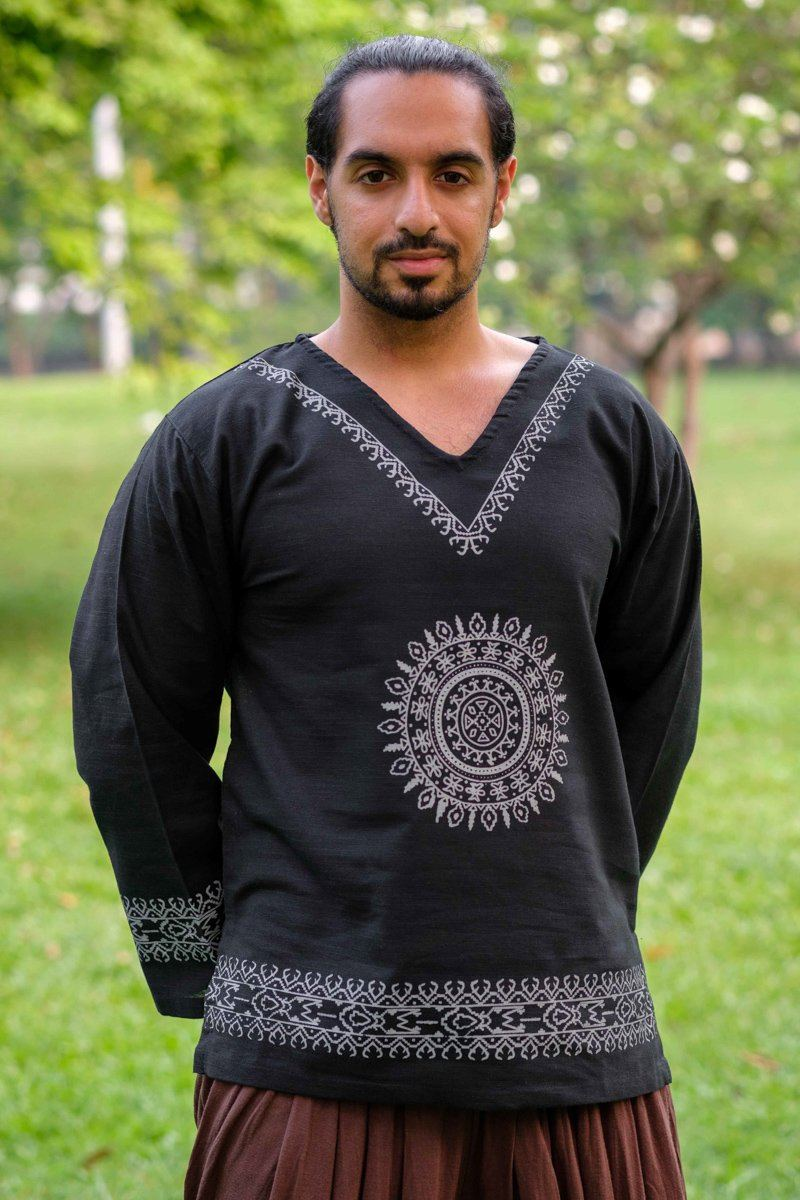 Black Mandala Shirt