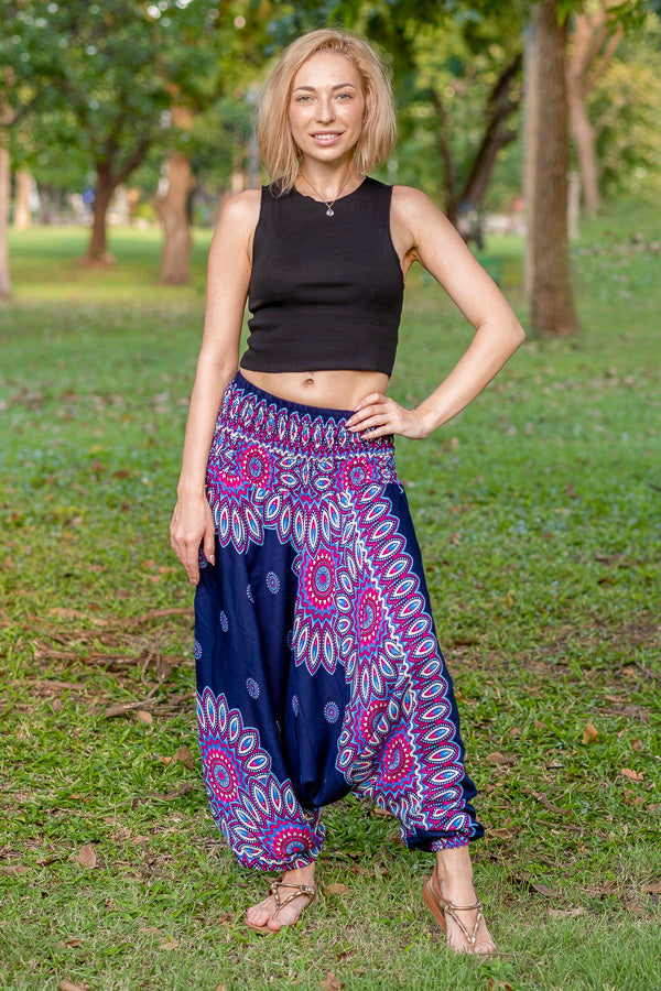 Blue Lotus PantsHarem Pants