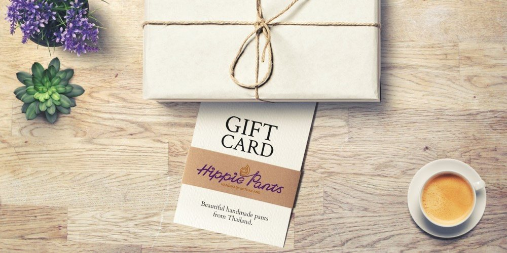 Hippie Pants Gift Card