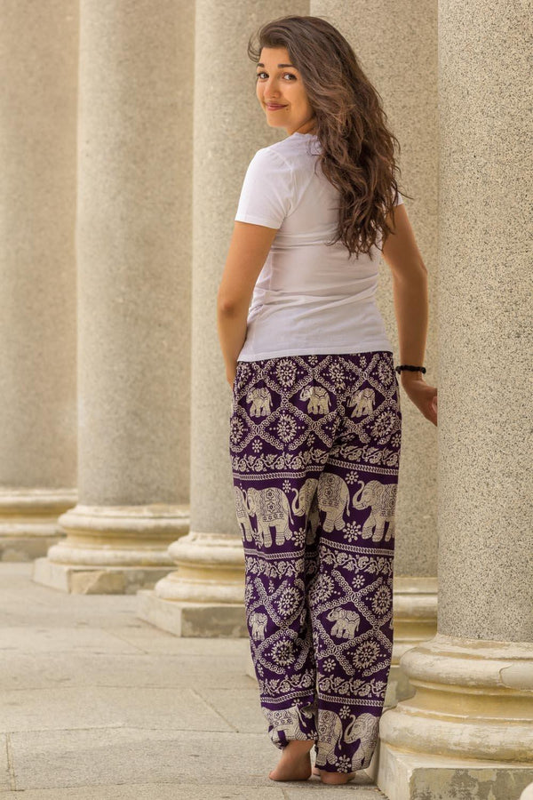 Purple Fortune Pants