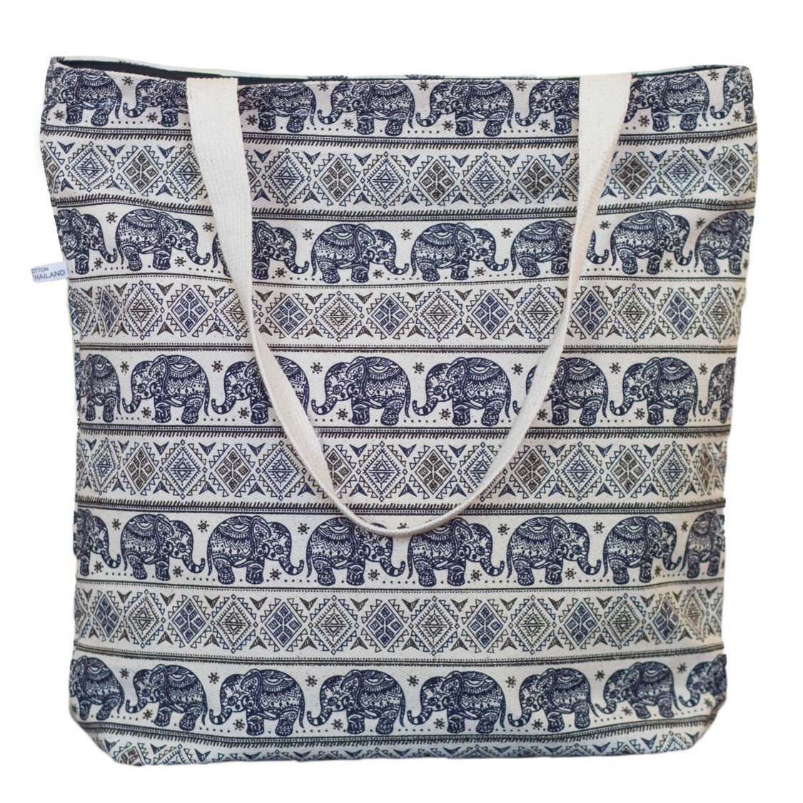 Navy Elephant Bag