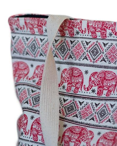 Red Elephant Bag Details