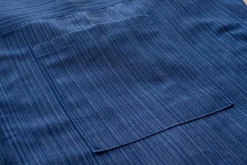 Royal Blue 3/4 Fisherman Pants Details