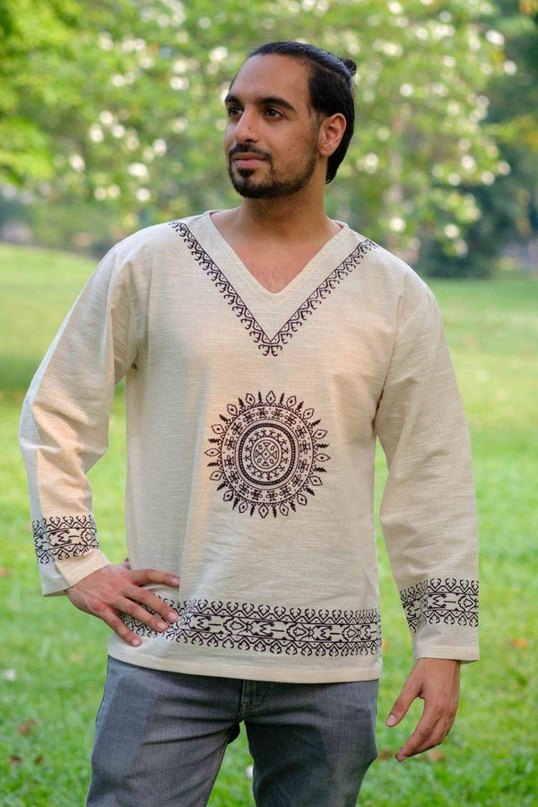 White Mandala Shirt