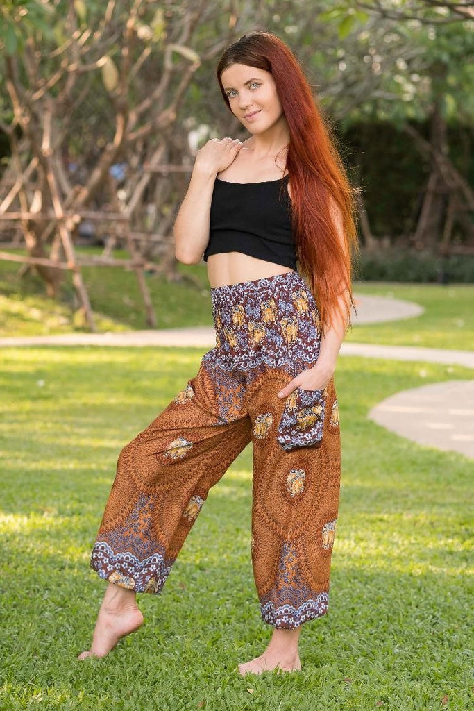 Brown Chang Pants