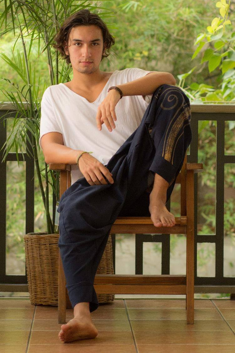 Navy Blue Men's Evolution Pants