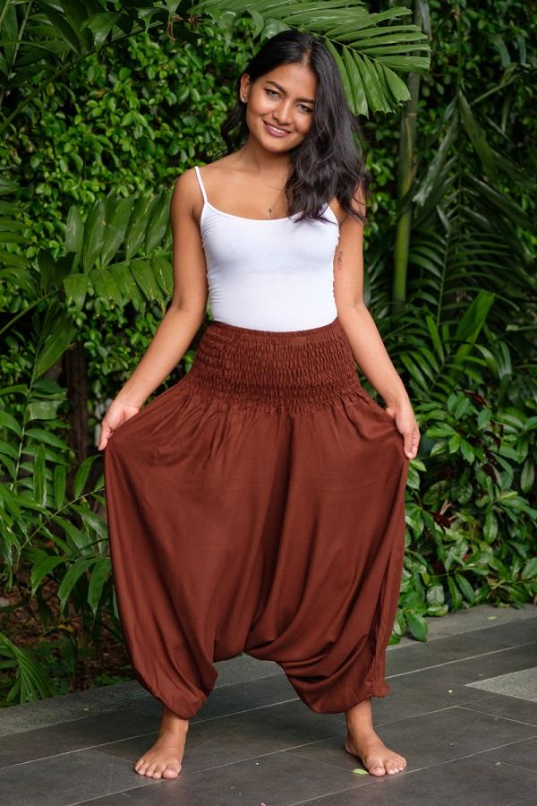 Brown Classic Pants