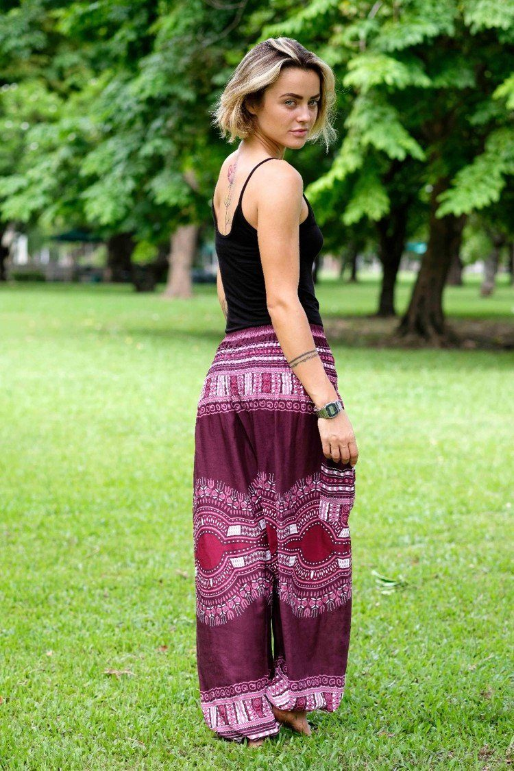 Burgundy Easy PantsEasy Pants