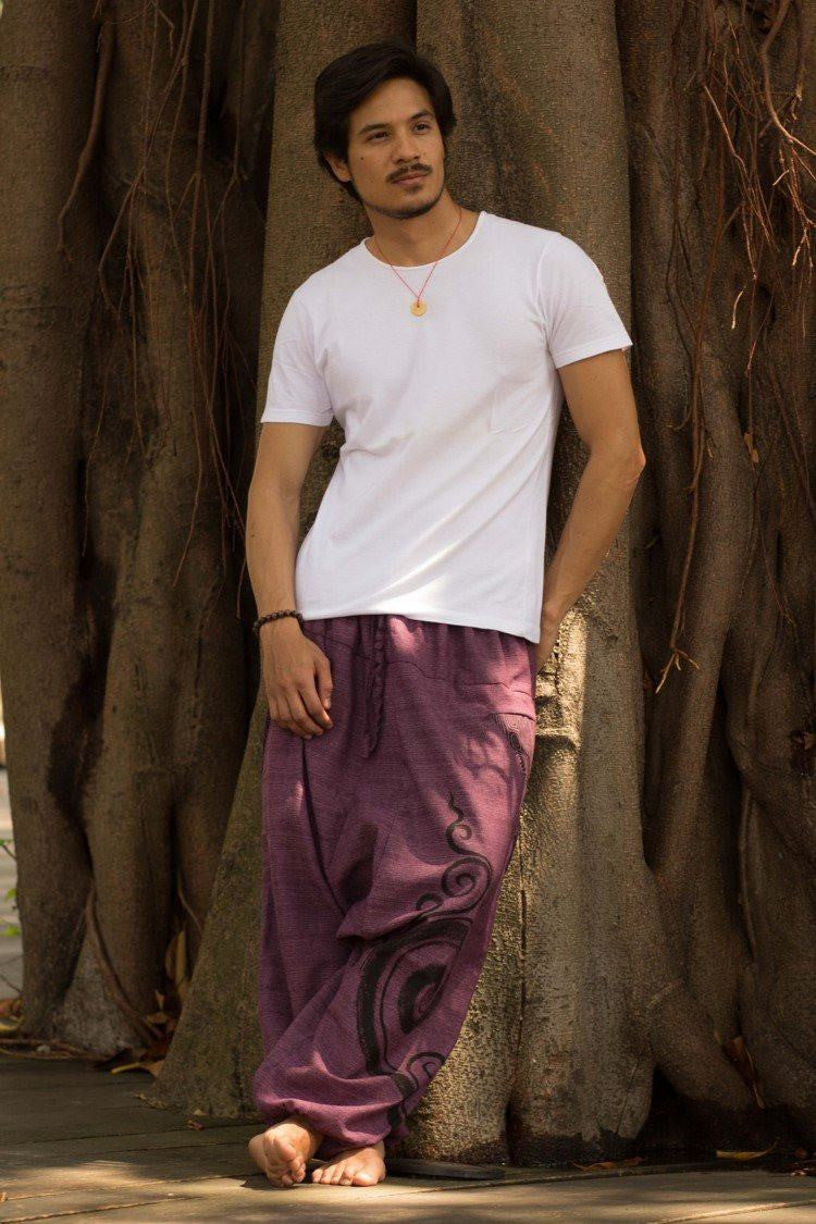 Purple Tribal Pants