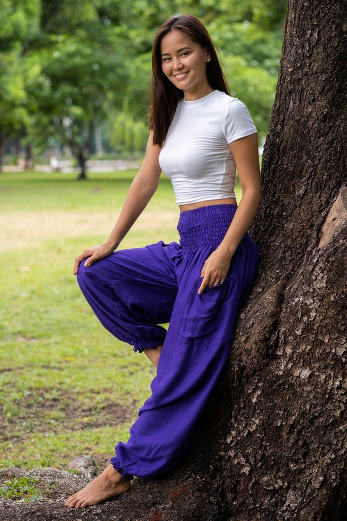 Purple Crystal Pants