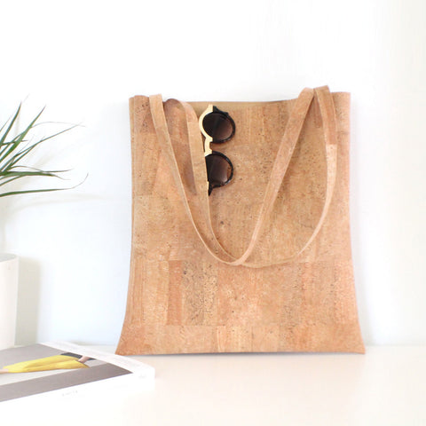 Vegan Cork Leather Bag