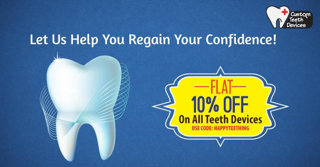 Custom Teeth Devices Coupon Code: HappyTeething