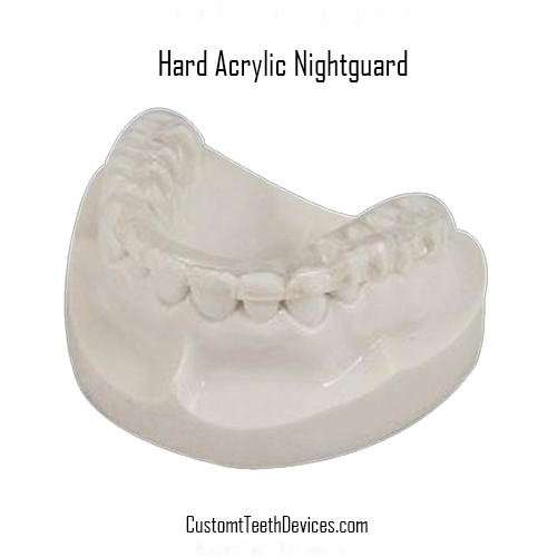 Hard Acrylic Night Guard For Grinders