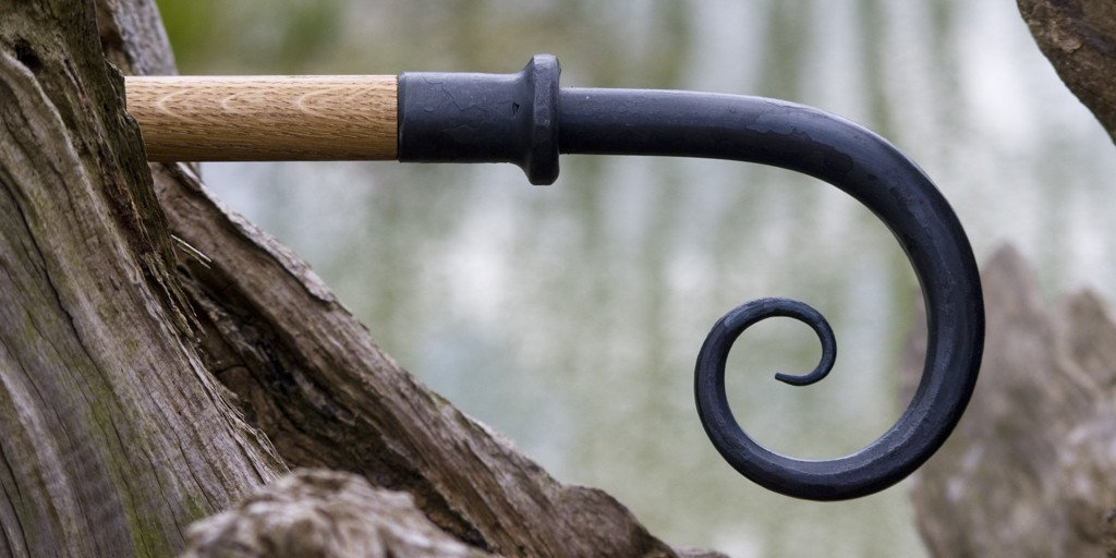Wrought Iron Scroll Finial